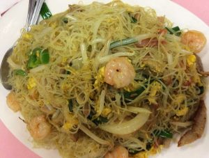 """Singapore"" Style Rice Noodle"