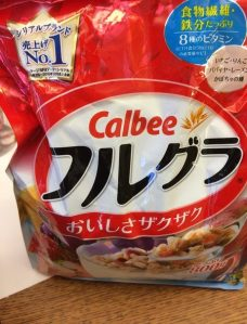 Healthy Cereal? Sorry, don't read Japanese