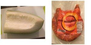 Winter Melon Portuguese Sausage