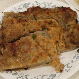 Chinese Pancake, Pork Filled