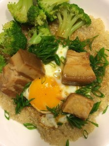Leftover Miso Braised Pork Belly