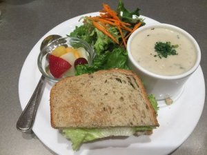 Soup, Salad, and Sandwich Combo