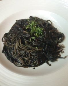 The Mouse's Squid Ink Pasta