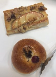Apple Walnut Puff Cranberry Walnut Roll