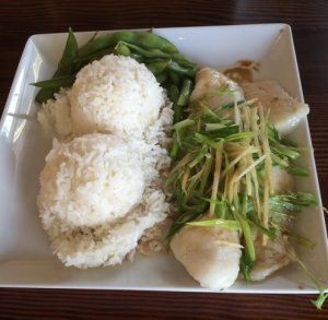 Steamed Fish Fillet - Ginger and Green Onion Flavor