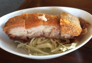 Side of Roast Pork Belly