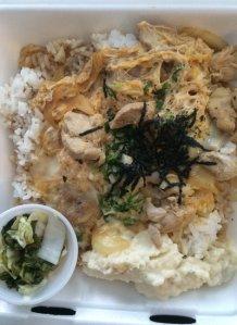 Oyako Don Plate