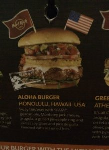 The Aloha Burger