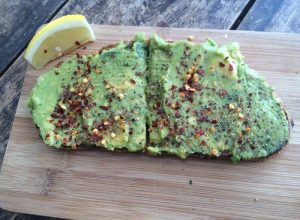 Avocado and Vegemite Toast