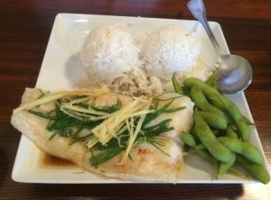 The Cat's Steamed Fish Plate