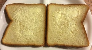 Bread Slices, Slightly Buttered