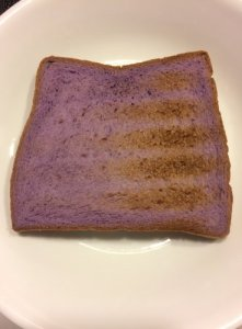 Slice of Taro Bread