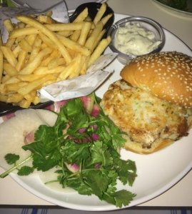 The Mouse's Shrimp Burger