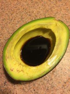 Avocado with Shoyu