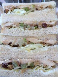 Chicken Salad Sandwich Detail