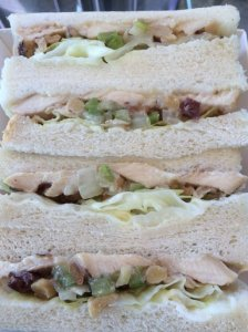 Chicken Salad Sandwich Detail