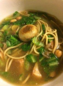 The Cat's Pasta Soup Bowl