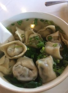 Shanghai Won Ton in Soup