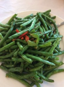 Stir-Fried String Beans with Garlic