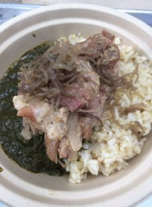 Luau Stew Bowl with Pork
