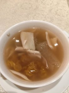 Bamboo Shoot and Mushroom Soup