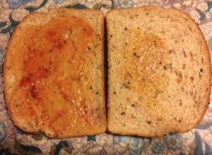 Taste like regular bread, not bad