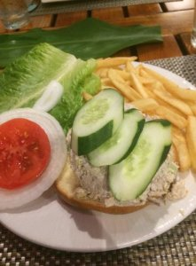 Fresh Tuna Salad Sandwich