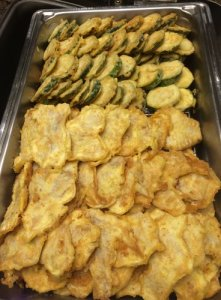 Zucchini and Fish Jeon