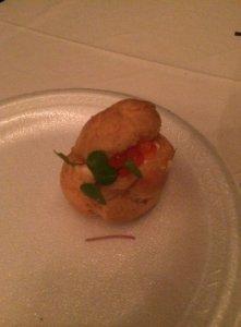 Smoked Salmon and Ikura Pastry (Bite Sized)