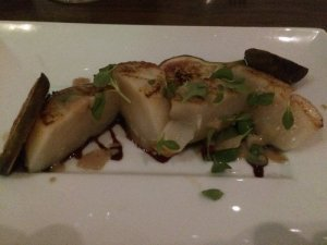 Scallop with Caramelized Fig