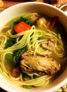 The Cat's Soup Noodle Bowl