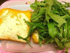 The Mouse's Mizuna Sandwich