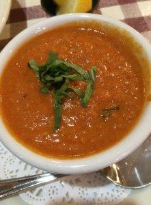 Tomato, Basil Soup