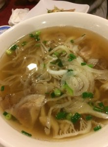 Tendon and Tripe Pho