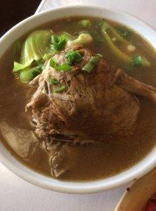 Pot Roast Duck Soup Noodle