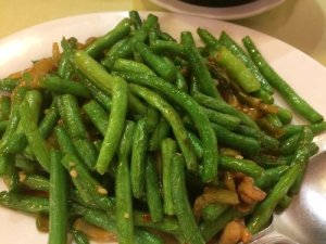 Stringbeans with Pork and Preserved Vegetable