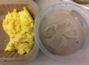 Scrambled Eggs and Fermented Poi