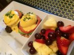 ATM Benedict with Fruit Bowl