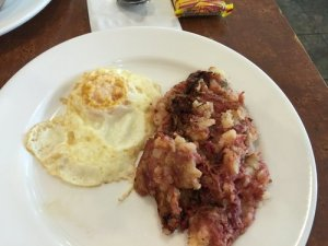 One Egg, Corned Beef Hash